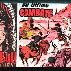 Tebeos: TEBEOS-COMICS CANDY - SITTING BULL - 28 - HISPANOAMERICANA - TORO SENTADO - RARO - *XX99. Lote 142831514