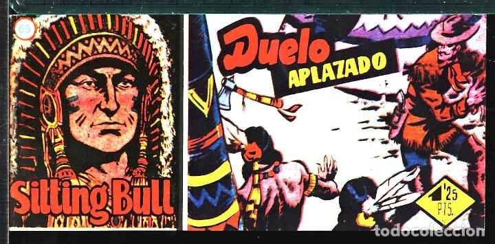 TEBEOS-COMICS CANDY - SITTING BULL - 65 - HISPANOAMERICANA - TORO SENTADO - RARO - *XX99 (Tebeos y Comics - Hispano Americana - Otros)