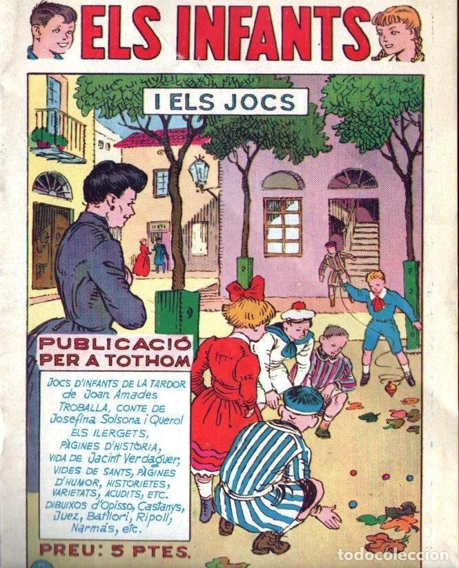 ELS INFANTS I ELS JOCS - HISPANO AMERICANA, 1957 - IL-LUSTREN BATLLORI JOFRÉ, OPISSO... - EN CATALÀ (Tebeos y Comics - Hispano Americana - Otros)