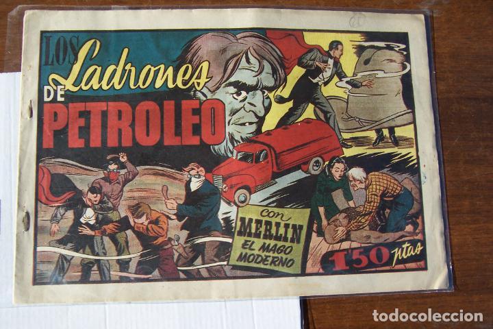 Tebeos: hispano americana, lote de merlín el mago, ver - Foto 83 - 81703172