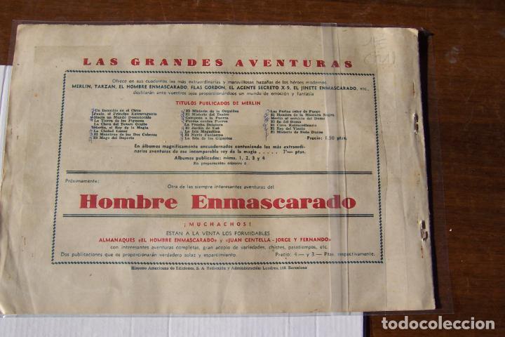 Tebeos: hispano americana, lote de merlín el mago, ver - Foto 84 - 81703172