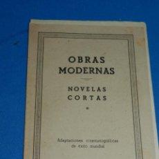 Tebeos: (M1) NOVELAS CORTAS NUM 17 - HISPANO AMERICANA , CONTIENE ALMAS ENCADENADAS , ETC. COMPLETO , RARO. Lote 143262546