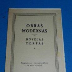 Tebeos: (M1) NOVELAS CORTAS NUM 18 - HISPANO AMERICANA , CONTIENE ALMAS ENCADENADAS , ETC. COMPLETO , RARO. Lote 143262638