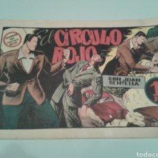 Livros de Banda Desenhada: ORIGINAL. JUAN CENTELLA. EL CÍRCULO ROJO. NÚM. 96. HISPANO AMERICANA. AÑOS CUARENTA.. Lote 143462473