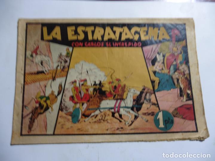 CARLOS EL INTREPIDO Nº9 LA ESTRATAGEMA ORIGINAL (Tebeos y Comics - Hispano Americana - Carlos el Intrépido)
