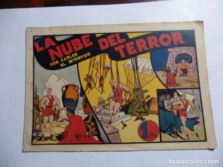 CARLOS EL INTREPIDO Nº11 LA NUVE DEL TERROR ORIGINAL (Tebeos y Comics - Hispano Americana - Carlos el Intrépido)