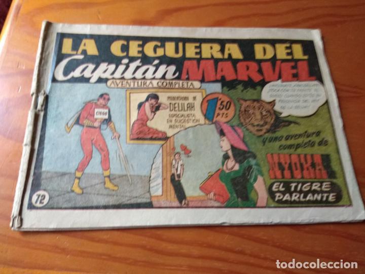 CAPITAN MARVEL, CUADERNILLO Nº 72 - ED. HISPANO AMERICANA - SHAZAM (Tebeos y Comics - Hispano Americana - Capitán Marvel)