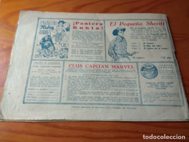 Tebeos: CAPITAN MARVEL, CUADERNILLO nº 72 - ED. HISPANO AMERICANA - SHAZAM - Foto 2 - 144118934