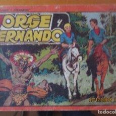 Tebeos: JORGE Y FERNANDO - ALBUM ROJO Nº. 5. Lote 144156398