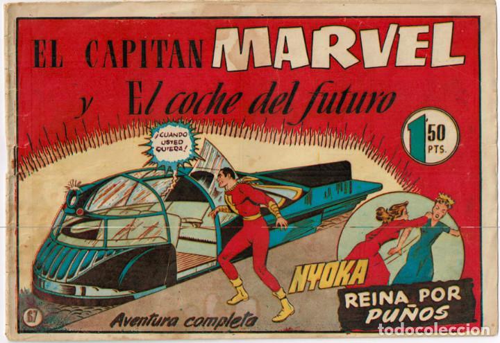 EL CAPITAN MARVEL Y EL COCHE DEL FUTURO Nº 67 (Tebeos y Comics - Hispano Americana - Capitán Marvel)