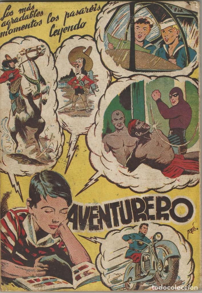 Tebeos: comic ALMANAQUE 1946 AVENTURERO EL HOMBRE ENMASCARADO EL LOCO HOLYWOOD ED HISPANO AMERICANA - Foto 2 - 144562078