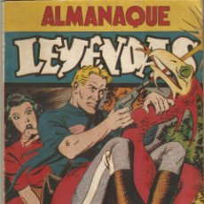 Tebeos: COMIC ALMANAQUE 1946 LEYENDAS DICK NORTON KAOR LA GUARDIA MOVIL ED HISPANO AMERICANA MBE. Lote 144562350