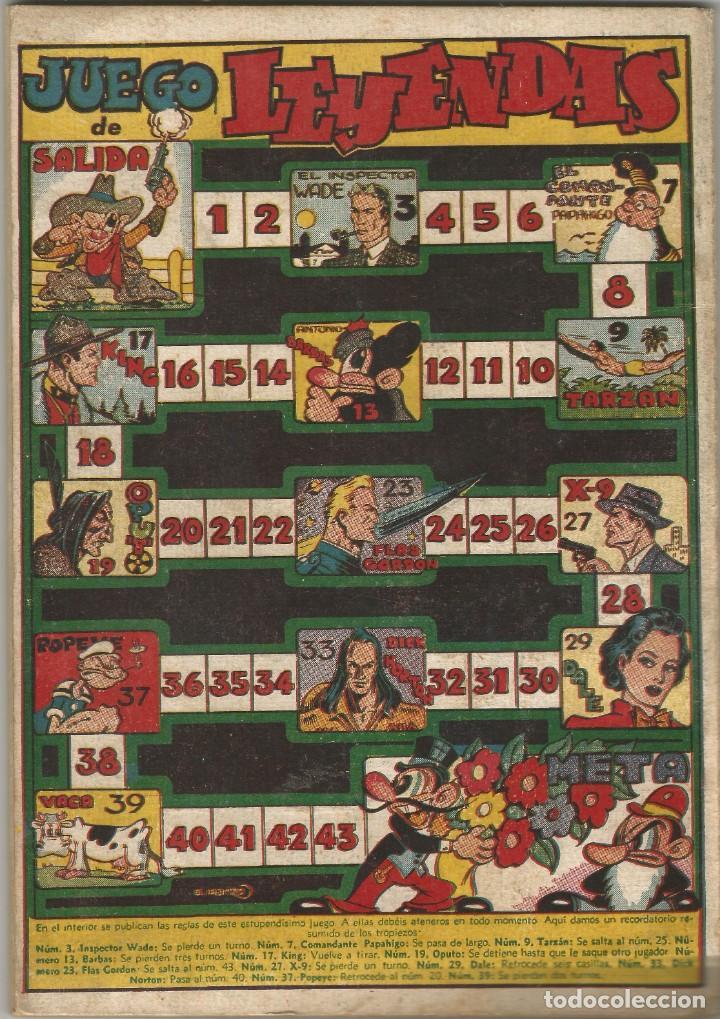 Tebeos: comic ALMANAQUE 1946 LEYENDAS DICK NORTON KAOR LA GUARDIA MOVIL ED HISPANO AMERICANA MBE - Foto 2 - 144562350