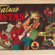 Tebeos: KING DE LA POLICIA MONTADA Nº 12 FALSAS PISTAS. Lote 144616350