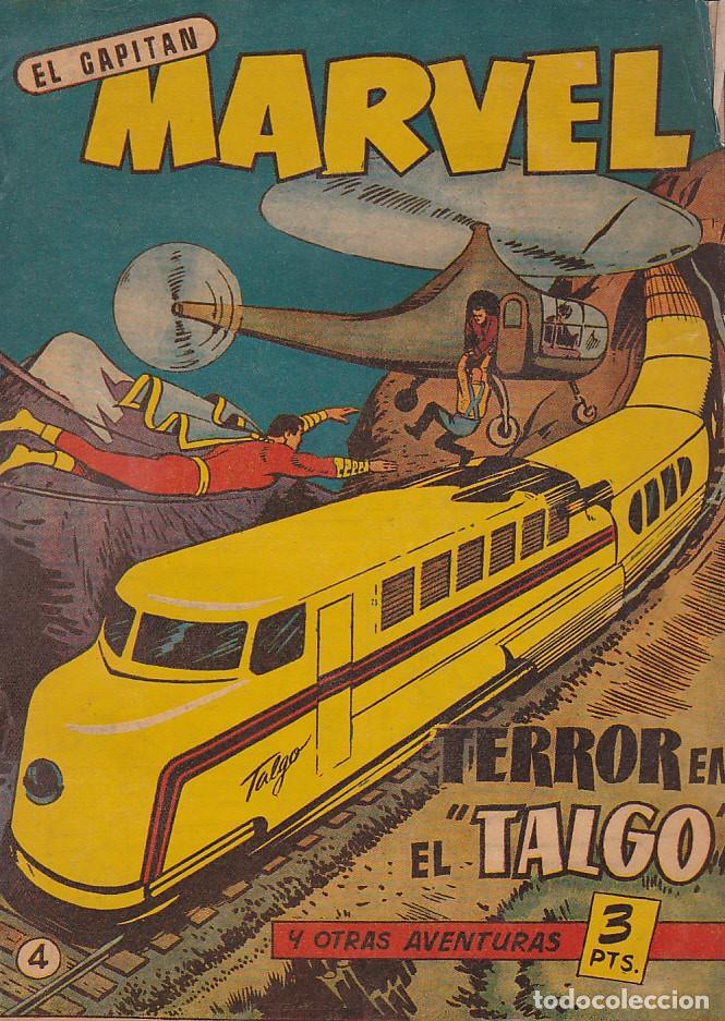 COMIC ORIGINAL COLECCION EL CAPITAN MARVEL Nº 4 EDITORIAL HISPANO AMERICANA (Tebeos y Comics - Hispano Americana - Capitán Marvel)