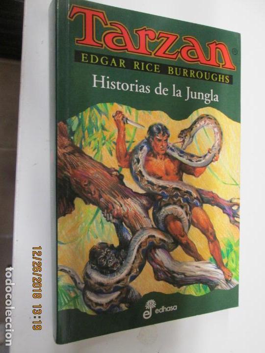 TARZAN - EDGAR RICE BURROUGHS - HISTORIAS DE LA JUNGLA Nº 6 - EDHASA 1995. (Tebeos y Comics - Hispano Americana - Tarzán)