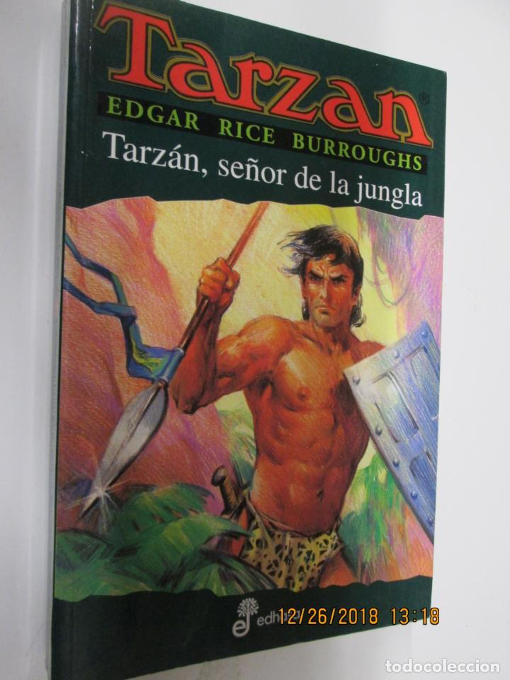 TARZAN - EDGAR RICE BURROUGHS - TARZÁN, SEÑOR DE LA JUNGLA Nº 11 - EDHASA 1995. (Tebeos y Comics - Hispano Americana - Tarzán)