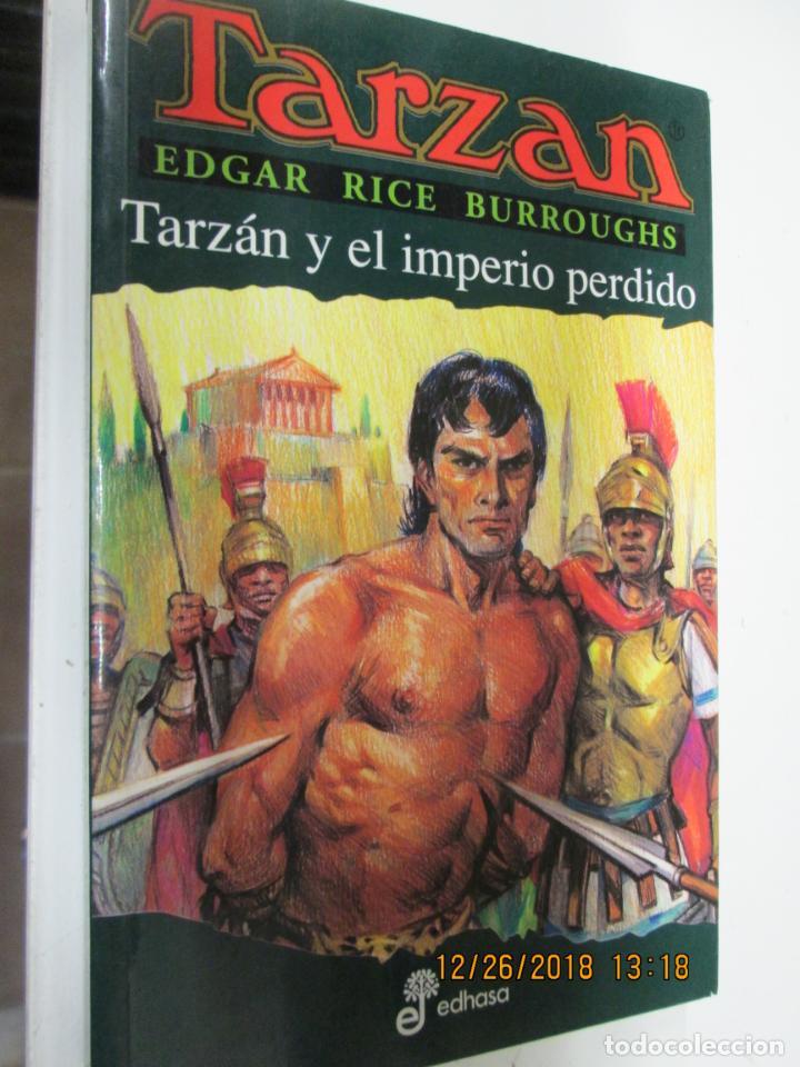 TARZAN - EDGAR RICE BURROUGHS - TARZÁN Y EL IMPERIO PERDIDO Nº 12 - EDHASA 1995. (Tebeos y Comics - Hispano Americana - Tarzán)