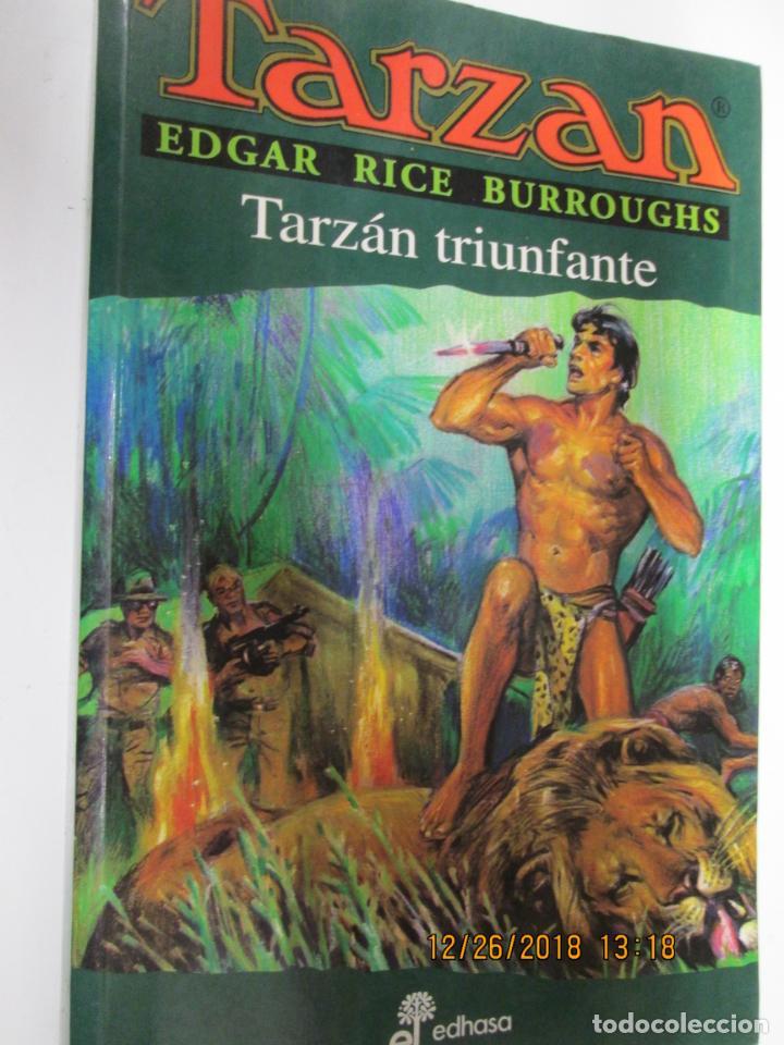 TARZAN - EDGAR RICE BURROUGHS - TARZÁN TRIUNFANTE Nº 15 - EDHASA 1995. (Tebeos y Comics - Hispano Americana - Tarzán)