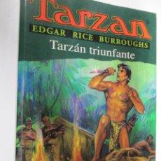 Tebeos: TARZAN - EDGAR RICE BURROUGHS - TARZÁN TRIUNFANTE Nº 15 - EDHASA 1995.. Lote 145006446