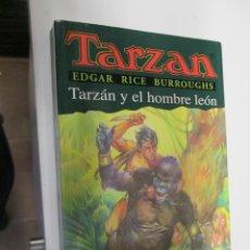 Tebeos: TARZAN - EDGAR RICE BURROUGHS - TARZÁN Y EL HOMBRE LEÓN Nº 17 - EDHASA 1995.. Lote 145006634
