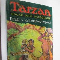 Tebeos: TARZAN - EDGAR RICE BURROUGHS - TARZÁN Y LOS HOMBRES LEOPARDOS Nº 18 - EDHASA 1995.. Lote 145006998