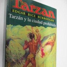 Tebeos: TARZAN - EDGAR RICE BURROUGHS - TARZÁN Y LA CIUDAD PROHIBIDA Nº 20 - EDHASA 1995.. Lote 145007346