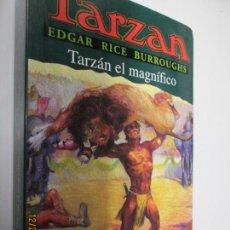 Tebeos: TARZAN - EDGAR RICE BURROUGHS - TARZÁN EL MAGNIFICO Nº 21 - EDHASA 1995.. Lote 145007534