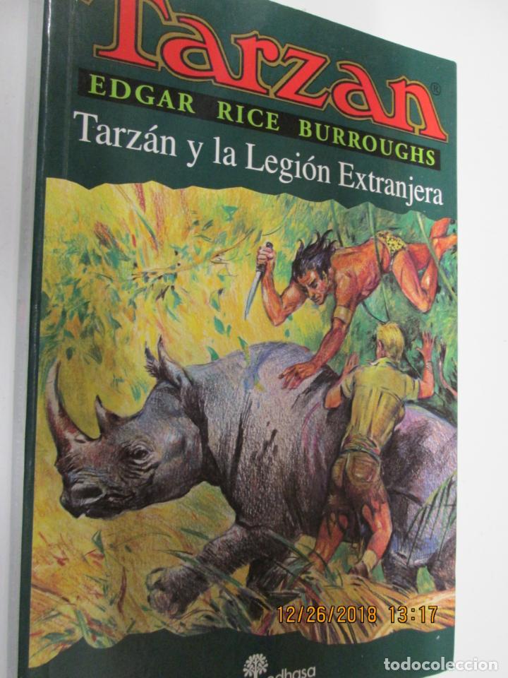 TARZAN - EDGAR RICE BURROUGHS - TARZÁN Y LA LEGIÓN EXTRANJERA Nº 22 - EDHASA 1995. (Tebeos y Comics - Hispano Americana - Tarzán)