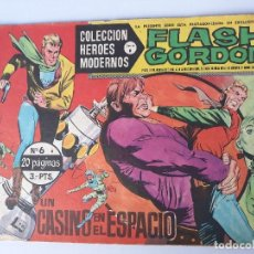 Tebeos: FLASH CORDON Nº 6 AÑO 1958 ( UN CASINO EN EL ESPACIO ). Lote 145192770
