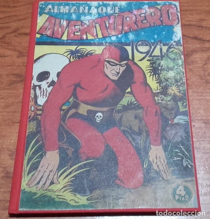 EDICIONES AVENTURERO ALMANAQUE 1946 HISPANO AMERICANA DE EDICIONES (Tebeos y Comics - Hispano Americana - Aventurero)