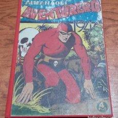 Tebeos: EDICIONES AVENTURERO ALMANAQUE 1946 HISPANO AMERICANA DE EDICIONES. Lote 145386318