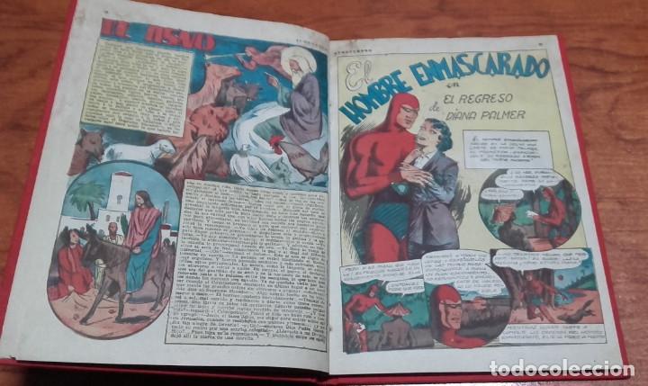 Tebeos: EDICIONES AVENTURERO ALMANAQUE 1946 HISPANO AMERICANA DE EDICIONES - Foto 2 - 145386318
