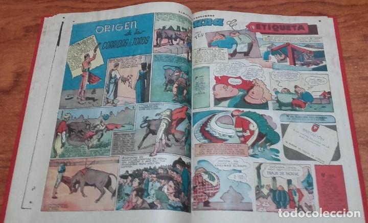 Tebeos: EDICIONES AVENTURERO ALMANAQUE 1946 HISPANO AMERICANA DE EDICIONES - Foto 3 - 145386318