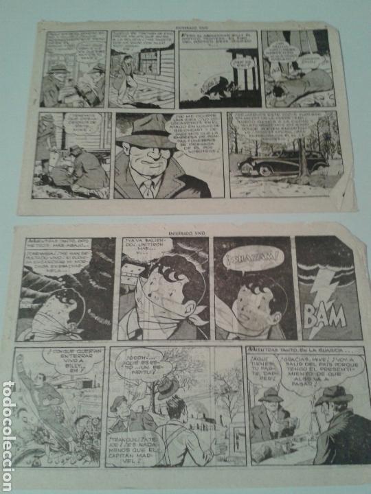 EL CAPITÁN MARVEL. NÚM. 38. ENTERRADO VIVO. EL CINEASTA LOCO. SOLO 8 PÁGS INTERIORES. (Tebeos y Comics - Hispano Americana - Capitán Marvel)