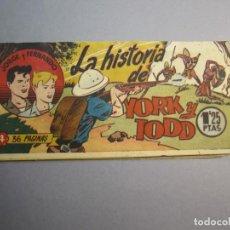Tebeos: JORGE Y FERNANDO (1949, HISPANO AMERICANA) 5 · 1949 · OTRA VEZ LOS DOS BANDIDOS. Lote 145855262