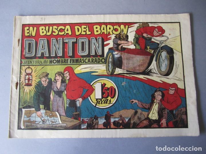 HOMBRE ENMASCARADO, EL (1941, HISPANO AMERICANA) 34 · 1941 · EN BUSCA DEL BARÓN DANTON (Tebeos y Comics - Hispano Americana - Hombre Enmascarado)