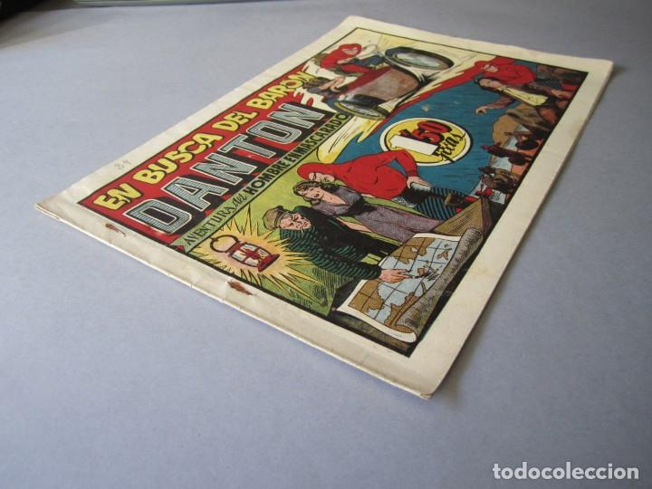 Tebeos: HOMBRE ENMASCARADO, EL (1941, HISPANO AMERICANA) 34 · 1941 · EN BUSCA DEL BARÓN DANTON - Foto 3 - 146406486
