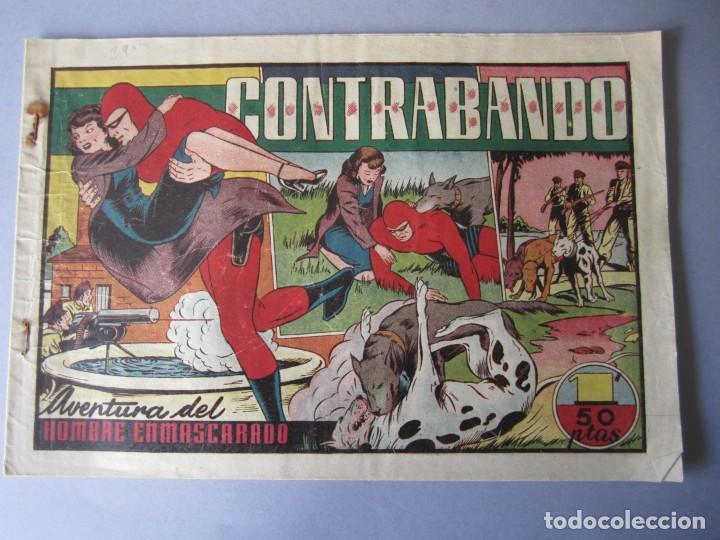 HOMBRE ENMASCARADO, EL (1941, HISPANO AMERICANA) 39 · 1941 · CONTRABANDO (Tebeos y Comics - Hispano Americana - Hombre Enmascarado)