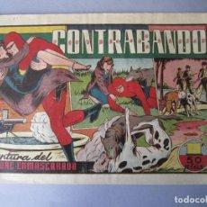 Tebeos: HOMBRE ENMASCARADO, EL (1941, HISPANO AMERICANA) 39 · 1941 · CONTRABANDO. Lote 146407110