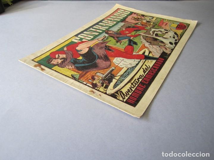 Tebeos: HOMBRE ENMASCARADO, EL (1941, HISPANO AMERICANA) 39 · 1941 · CONTRABANDO - Foto 3 - 146407110