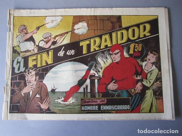 HOMBRE ENMASCARADO, EL (1941, HISPANO AMERICANA) 40 · 1941 · EL FIN DE UN TRAIDOR (Tebeos y Comics - Hispano Americana - Hombre Enmascarado)
