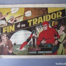 Tebeos: HOMBRE ENMASCARADO, EL (1941, HISPANO AMERICANA) 40 · 1941 · EL FIN DE UN TRAIDOR. Lote 146407642