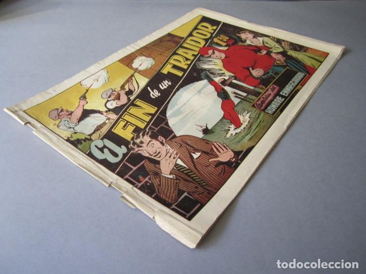 Tebeos: HOMBRE ENMASCARADO, EL (1941, HISPANO AMERICANA) 40 · 1941 · EL FIN DE UN TRAIDOR - Foto 3 - 146407642