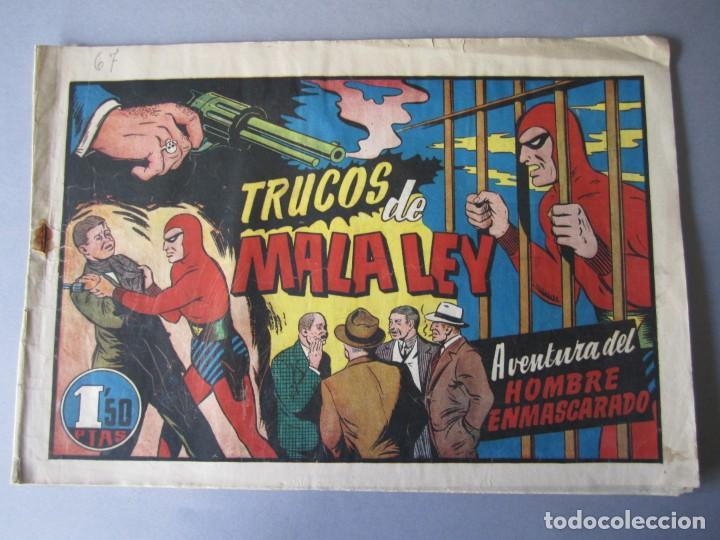 HOMBRE ENMASCARADO, EL (1941, HISPANO AMERICANA) 67 · 1941 · TRUCOS DE MALA LEY (Tebeos y Comics - Hispano Americana - Hombre Enmascarado)