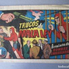 Tebeos: HOMBRE ENMASCARADO, EL (1941, HISPANO AMERICANA) 67 · 1941 · TRUCOS DE MALA LEY. Lote 146408602