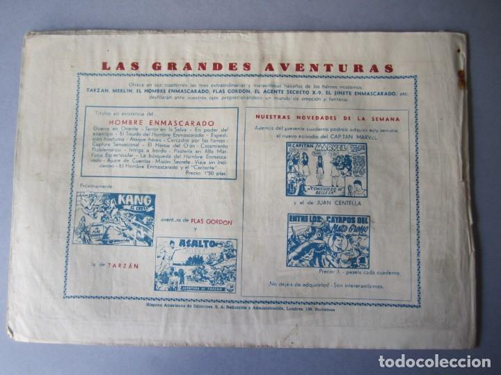 Tebeos: HOMBRE ENMASCARADO, EL (1941, HISPANO AMERICANA) 67 · 1941 · TRUCOS DE MALA LEY - Foto 2 - 146408602