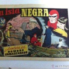 Tebeos: HOMBRE ENMASCARADO - LA ISLA NEGRA. Lote 146581330
