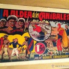 Tebeos: HOMBRE ENMASCARADO -LA ALDEA DE LOS CANIBALES. Lote 146581458