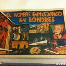 Tebeos: HOMBRE ENMASCARADO - EN LONDRES- MUY BIEN CONSERVADO. Lote 146581554